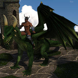 Dragon Rider 1 by Barroa Artworks