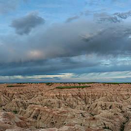 Dramatic Badlands Clouds by Joan Carroll