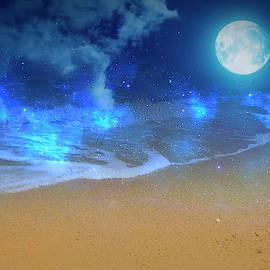 Dreamland Beach Magically by Johanna Hurmerinta