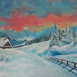 Dreams of winter by Ksenia Alexandrovna