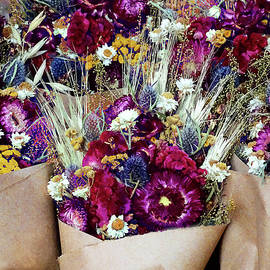 Dried Flower Bouquets by Susan Savad