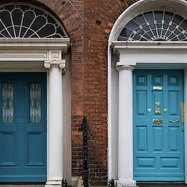 Dublin Double Blue by Georgia Fowler