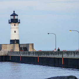 Duluth North Breakwater Light by Phyllis Taylor