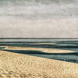 Textured Dune du Pilat, Bordeaux, France by Luther Fine Art