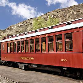 Durango And Silverton Rail Road Passenger Cars 2 by John Trommer