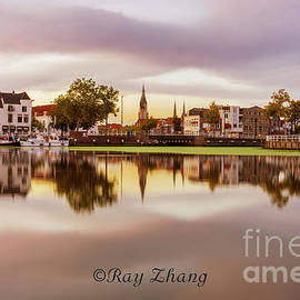 Dusk at Delft by Ray Zhang