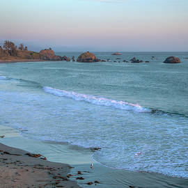 Dusk at Pebble Beach 0932 by Kristina Rinell