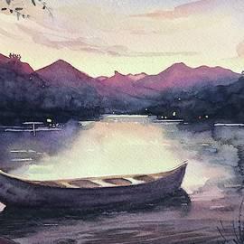 Dusk Canoe by Luisa Millicent