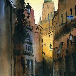Dusk In Segovia by Dora Hathazi Mendes
