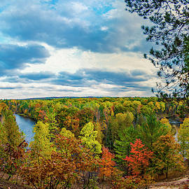 Eagle View Deck Panorama by Dustin Goodspeed