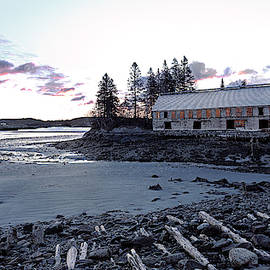 Early Light At The Old Smokehouse by Marty Saccone