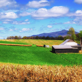 Early Spring On The Farm by Jim Love