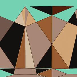 Earth Shapes Abstract by Bob Orsillo