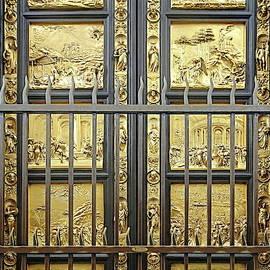 East Doors, or Gates of Paradise, by Lorenzo Ghiberti by Lyuba Filatova