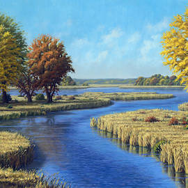 Sunrise River, East of Stacy by Rick Hansen