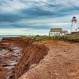 East Point Lighthouse, P.E.I. by Brett Zimmerman