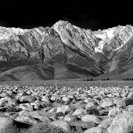 Eastern Sierra Nevada Morning Monochrome by Douglas Taylor