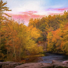 Eau Claire Dells Morning by Trey Foerster