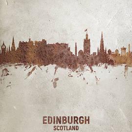 Michael Tompsett - Edinburgh Scotland Rust Skyline