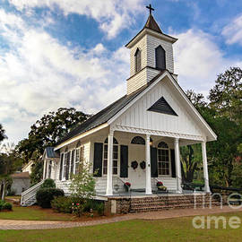 Edisto Trinity Episcopal Church by Norma Brandsberg