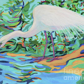 Egret SAM by Sharon Nelson-Bianco