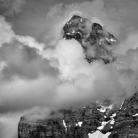 Eiger. 3,967-meters. Alps. BW by Guido Montanes Castillo