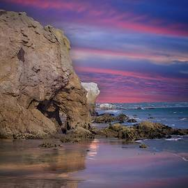 El Matador State Beach Sunset by Lynn Bauer