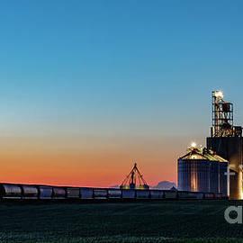Elevator Sunset by Brad Allen Fine Art