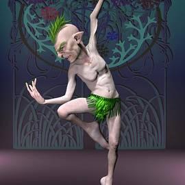 Elf dancer by Joaquin Abella
