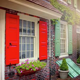 Elfreth's Alley Historic Philadelphia