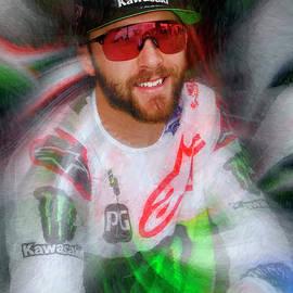 Eli Tomac Ama Supercross Motocross by Blake Richards