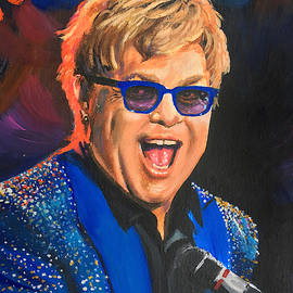 Elton John by Robert Korhonen