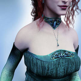 Elven Princess Portrait by Elle Arden Walby