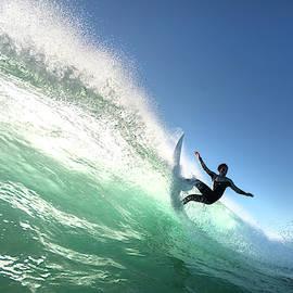 Emerald Splash by Sean Davey