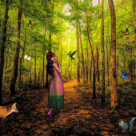 Emily and The Forest Animals by Judy Vincent