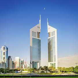 Emirates Towers in Dubai by Alexey Stiop