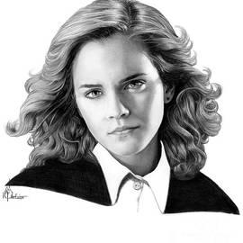 Emma Watson drawing by Murphy Art Elliott