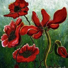 Endless Poppy Love by Jolanta Anna Karolska