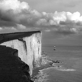 English Channel Lighthouse by Jerry Griffin