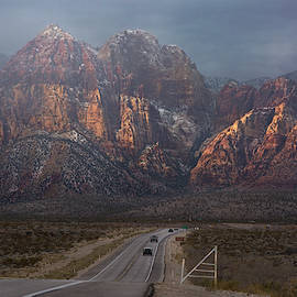 Entering Red Rock Canyon by Sue Cullumber