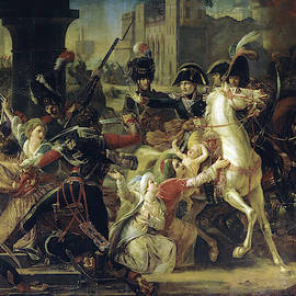 Entree du general Bonaparte a Alexandrie, 1798 by Guillaume-Francois Colson