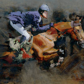 Equestrian Jump by Carlos Carriles Olive