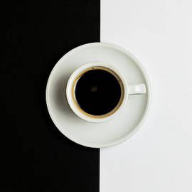Michalakis Ppalis - Espresso coffee on a white pot