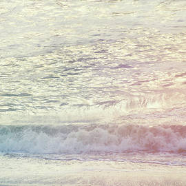 Ethereal Summer Morning #mixedmedia #beach by Andrea Anderegg