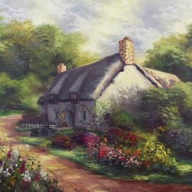 European Cottage III by Lynne Pittard