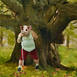 Even a Blind Pig Can Find an Acorn by David Zimmerman