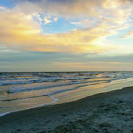 Evening At The Beach  by Edward Garey