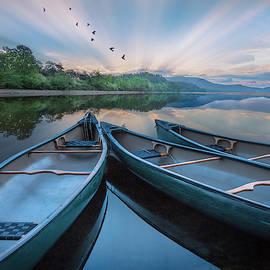 Evening Float by Debra and Dave Vanderlaan