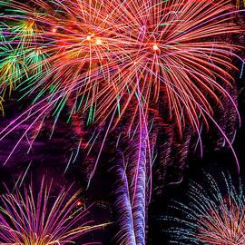 Exploding Night Sky by Garry Gay