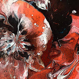 Extravagant Floral Abstract by Trudee Hunter